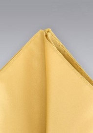 Pocket squares - Golden yellow pocket square