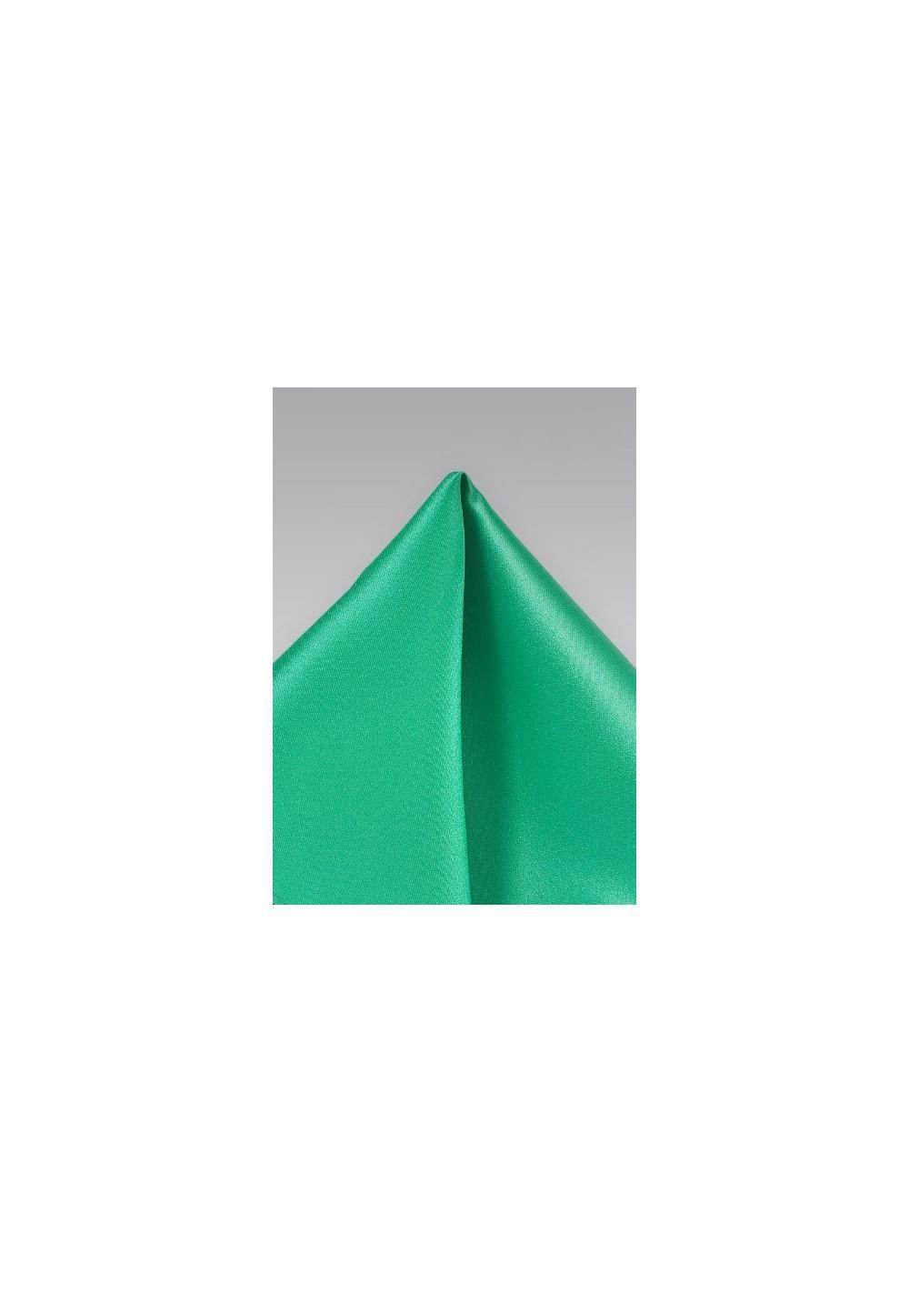 Pocket Squares  - Light green hankie