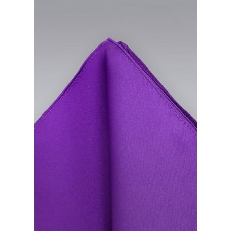 Pocket Squares -  Purple hankie