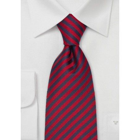 """Classic Striped Ties - Striped """"Signals"""" Tie by Parsely"""