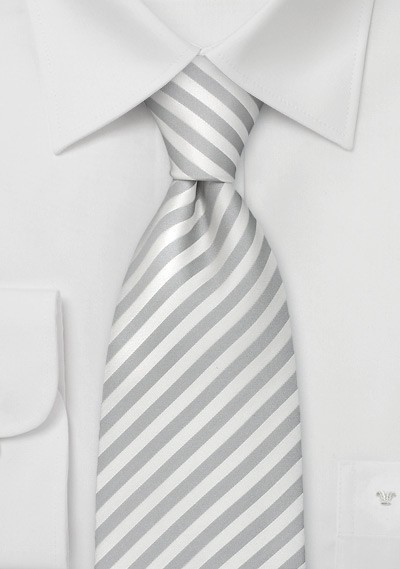 """Formal Mens Ties - Striped Tie """"Signals"""" by Parsley"""
