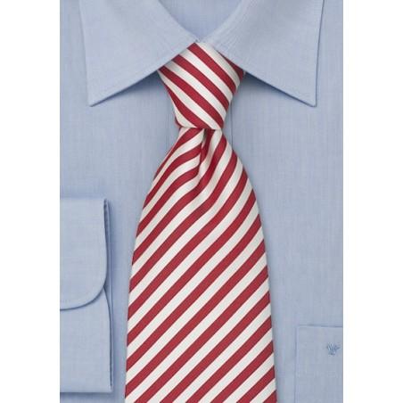 Kids Ties - Candy Cane Silk Tie