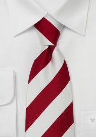 "Extra Long Striped Ties - Striped Tie ""Lighthouse"" by Parsley"
