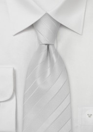 Elegant and Formal Ivory Necktie