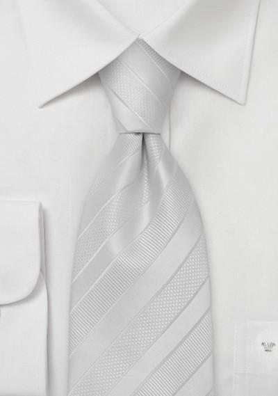 Festive Bright White Tie in XL