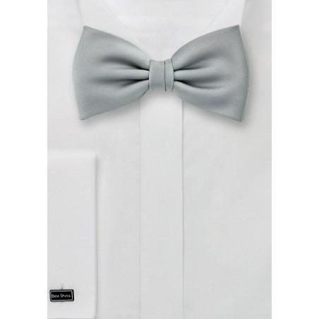 Light Silver Bow Tie