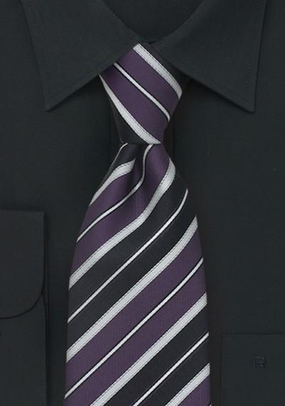 Italian Striped Tie by Cavallieri