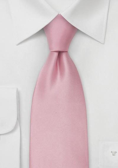 Light Pink Silk Necktie