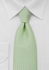 Tea Green Mens Necktie