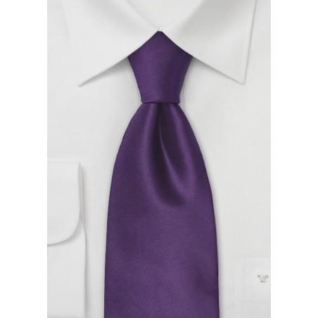 Indigo-Purple Silk Tie for Kids
