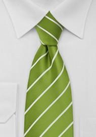 Chartreuse Green Kids Tie