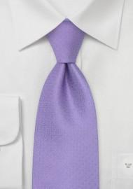 French Designer Tie in Lavender