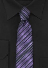 Skinny Necktie in Purple