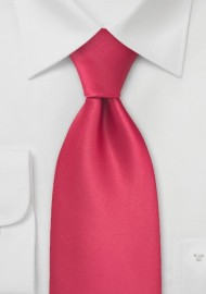 Candy Apple-Red Necktie