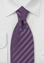 Light Eggplant Silk Tie