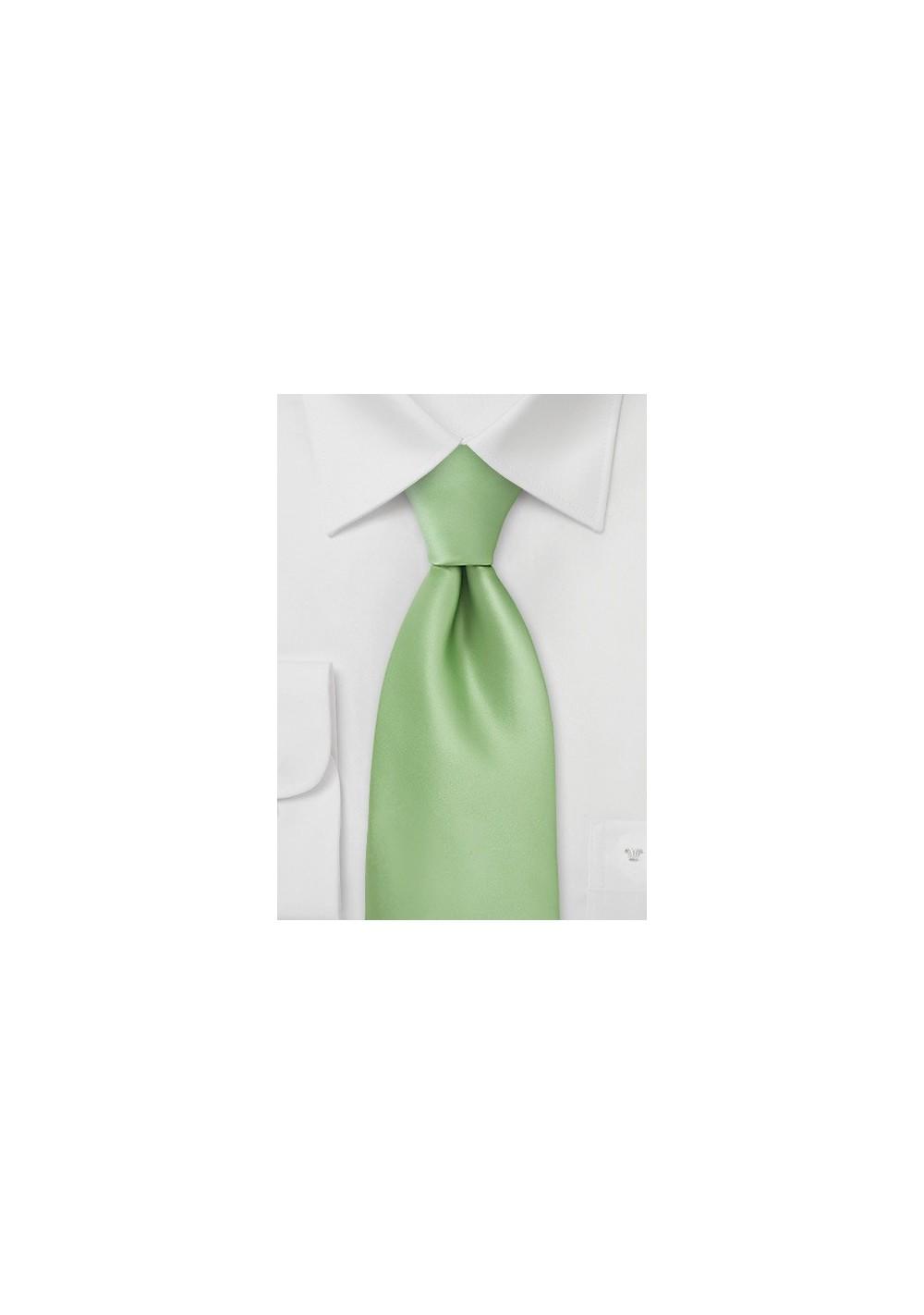 Key Lime Green Necktie