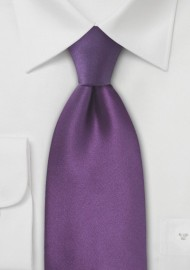 Violet Purple Kids Silk Tie