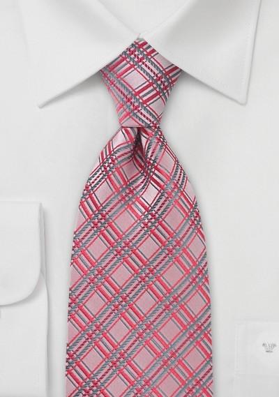 Light Coral Red Necktie