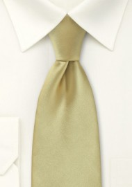 Formal Golden Tan Tie