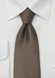 Chestnut Brown Tie