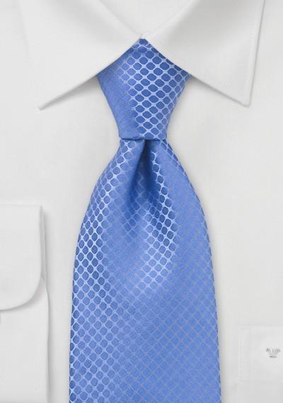 Cornflower Blue Tie in XXL