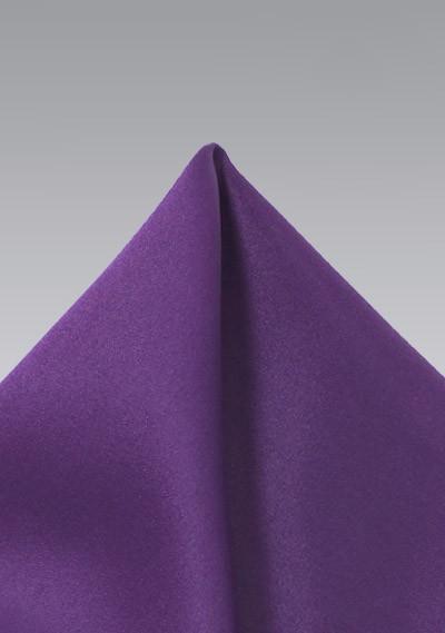 Grape Purple Pocket Square