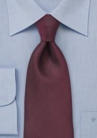 Textured Burgundy Tie