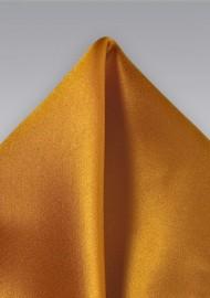 Copper Orange Pocket Square
