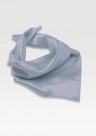 Bright Silver Neck Scarf