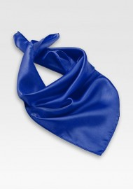 Bright Blue Womens Scarf