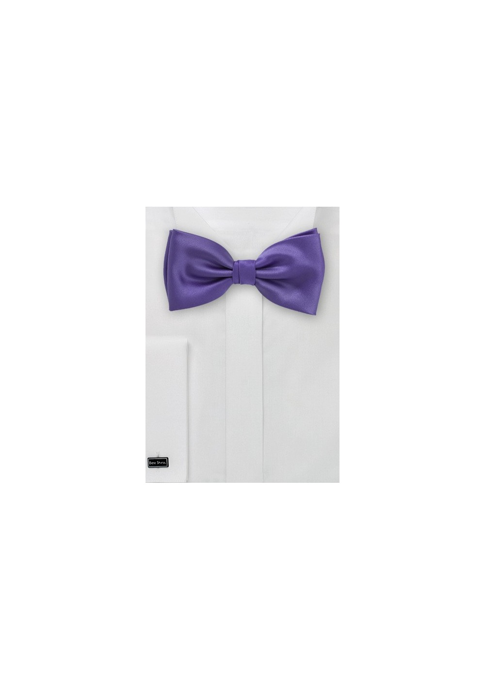 Solid Purple Bow Tie