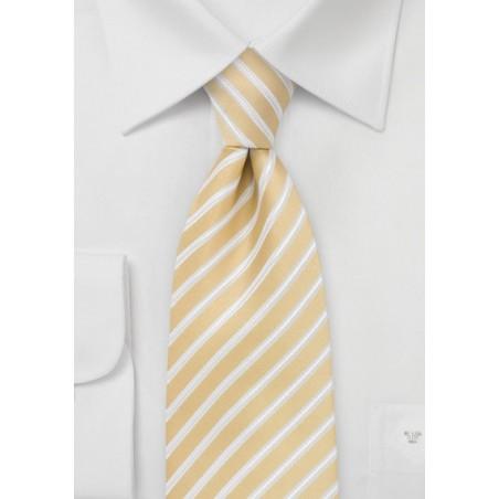 Harvest Yellow Extra Long Tie