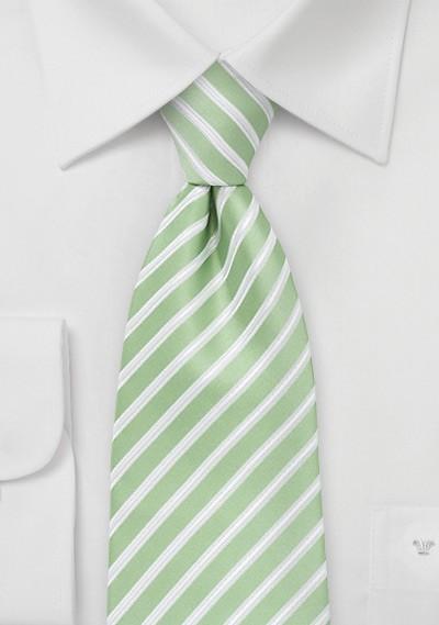 Seafoam Green Tie in Kids Length