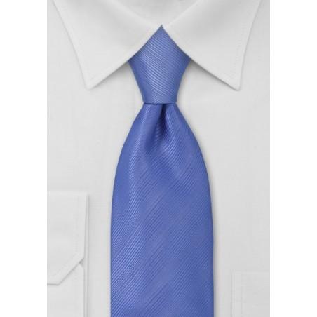 Kids Necktie in Bright Periwinkle Blue