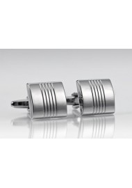 Medium Sized Grooved Cufflinks