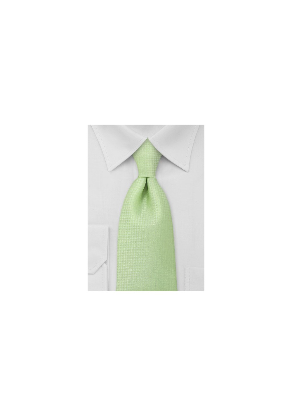 Light Lime Green Extra Long Tie