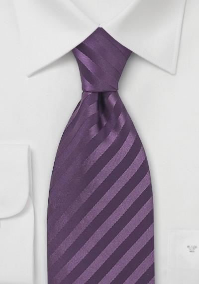 Light Eggplant Silk Tie for Kids