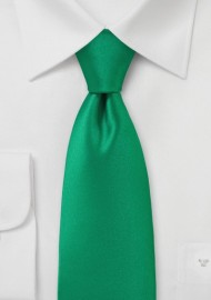 Bright Emerald Green Necktie