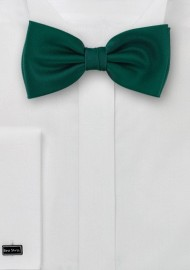 Solid Holly Green Bow Tie