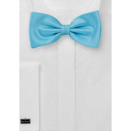 Pre Tied Bow Tie in Mermaid Blue