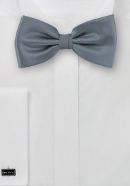 Pre Tied Bow Tie in Carbon Grey