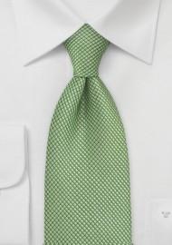 XL Textured Green Tie