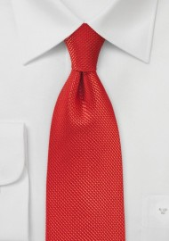 Pure Silk Persimmon Necktie