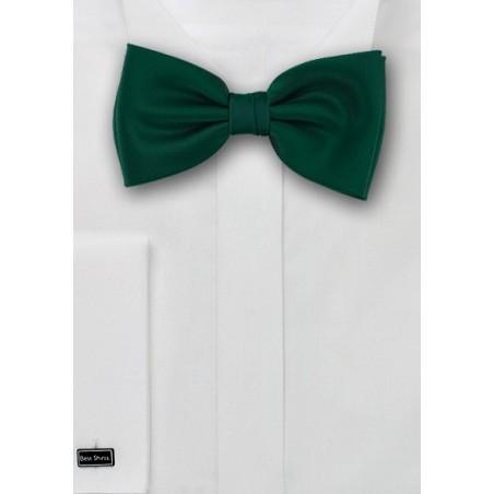 Dark Hunter Green Bow Tie