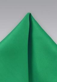 Emerald Green Pocket Square