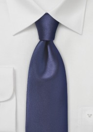 Elegant Dark Navy Neck Tie