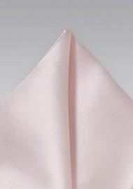 Ultra Light Pink Pocket Square