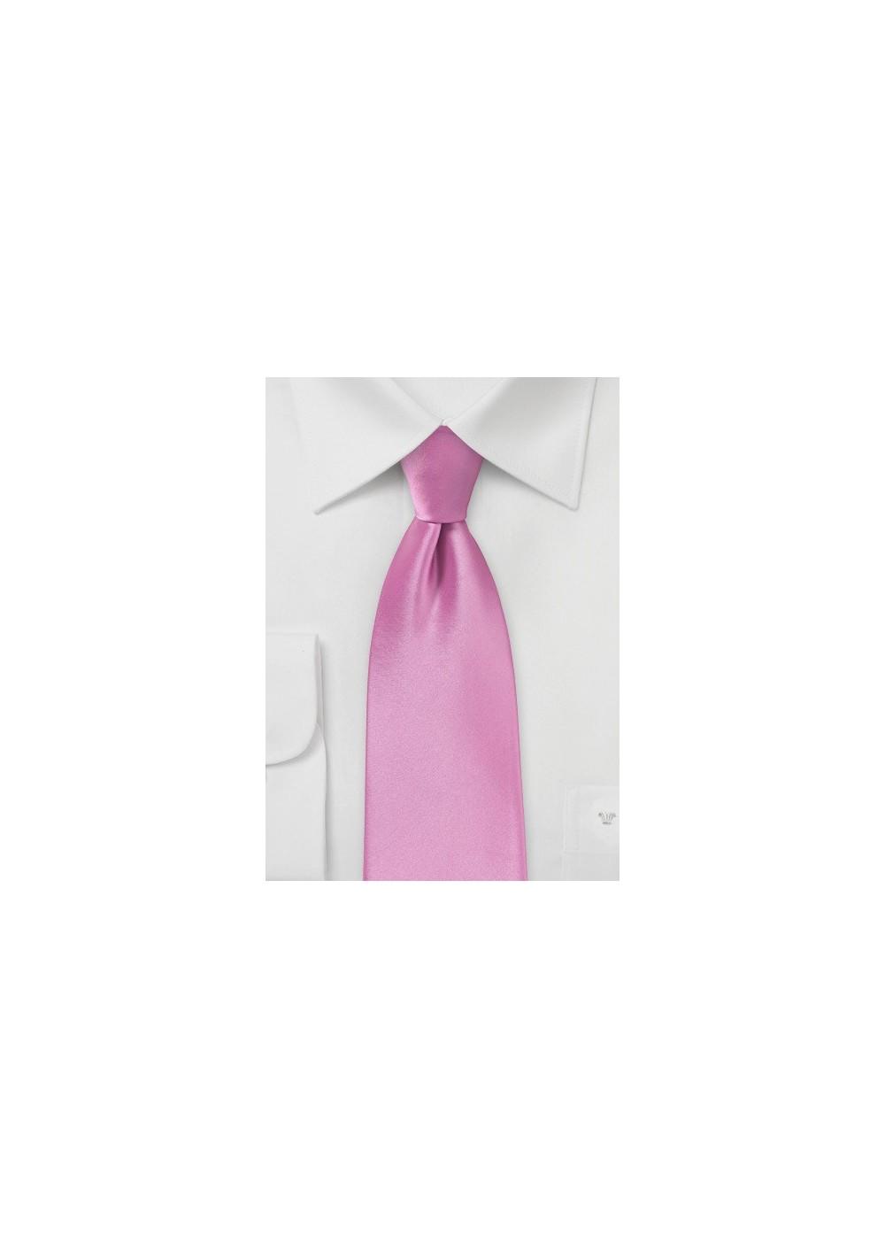 Orchid Pink Necktie