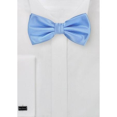 Bright Sky Blue Bow Tie