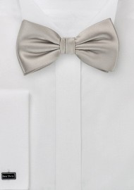 Mercury Silver Bow Tie